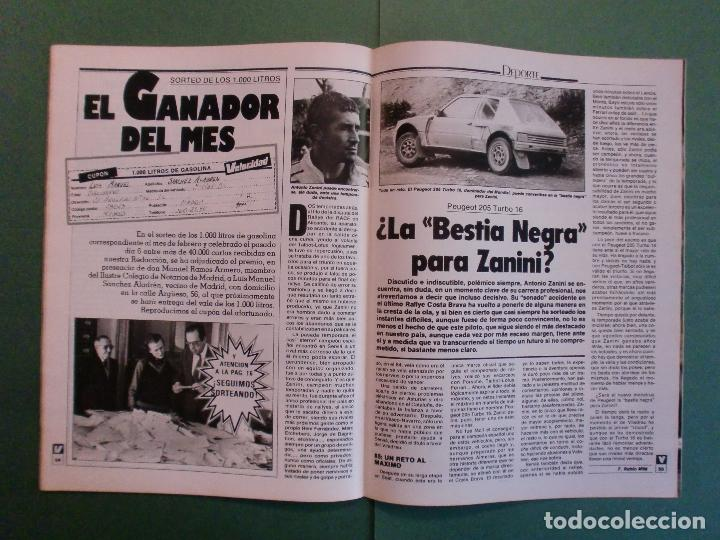 Coches y Motocicletas: VELOCIDAD Nº 1225 16/3/1985 LANCIA Y-10 - PORSCHE 944 - VW GOLF GT - FORD SIERRA RS - SALON GINEBRA - Foto 10 - 194748825