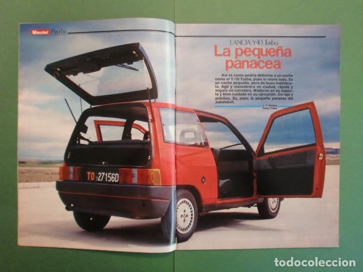 Coches y Motocicletas: VELOCIDAD Nº 1227 30/3/1985 LANCIA Y-1O T - OPEL KADETT 1.6 GLS - VW POLO CLASIC - MERLIN GALLACH - Foto 2 - 194749248
