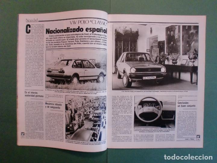 Coches y Motocicletas: VELOCIDAD Nº 1227 30/3/1985 LANCIA Y-1O T - OPEL KADETT 1.6 GLS - VW POLO CLASIC - MERLIN GALLACH - Foto 3 - 194749248