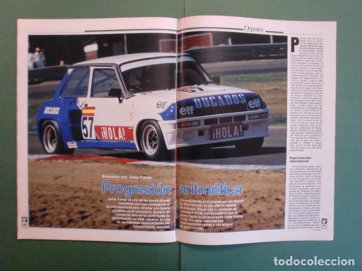 Coches y Motocicletas: VELOCIDAD Nº 1227 30/3/1985 LANCIA Y-1O T - OPEL KADETT 1.6 GLS - VW POLO CLASIC - MERLIN GALLACH - Foto 13 - 194749248