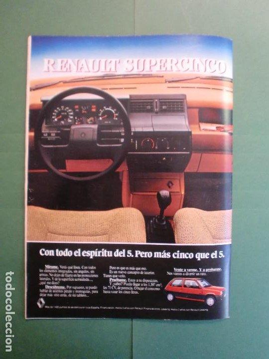 Coches y Motocicletas: VELOCIDAD Nº 1227 30/3/1985 LANCIA Y-1O T - OPEL KADETT 1.6 GLS - VW POLO CLASIC - MERLIN GALLACH - Foto 14 - 194749248
