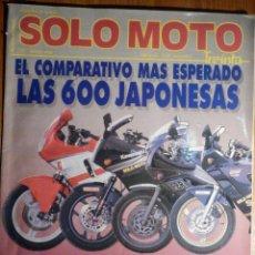Coches y Motocicletas: SOLO MOTO TREINTA - Nº 75 - MAYO 1989 - . Lote 194904430