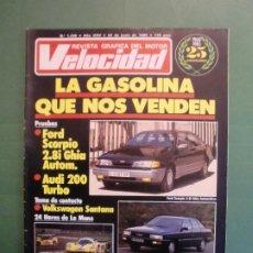Coches y Motocicletas: VELOCIDAD Nº 1239 22/6/1985 FORD SCORPIO AUDI 200 T - VW SANTANA - LE MANS PORSCHE - FERRARI . Lote 194971242