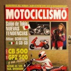 Coches y Motocicletas: MOTOCICLISMO N° 1341 (NOVIEMBRE 1993). HONDA CB 500, KAWA GPZ 500, SUZUKI GS 500, BMW R 1100 GS. Lote 195030326