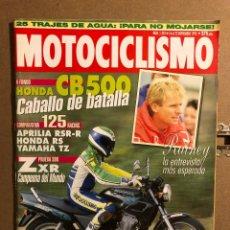 Coches y Motocicletas: MOTOCICLISMO N° 1343 (NOVIEMBRE 1993). HONDA CB 500, APRILIA RSR-R 125 VS HONDA RS Y YAMAHA TZ,.... Lote 195030505