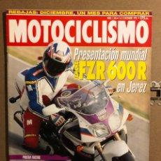 Coches y Motocicletas: MOTOCICLISMO N° 1346 (1993). YAMAHA FZR 600 R, YAMAHA TT 600, YZF. Lote 195030775