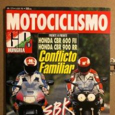 Coches y Motocicletas: MOTOCICLISMO N° 1273 (JULIO 2002). HONDA CBR 600 FII VS HONDA CBR 900 RR,.... Lote 195031282