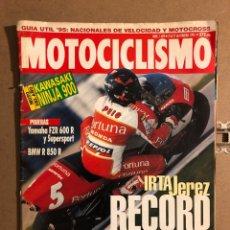 Coches y Motocicletas: MOTOCICLISMO N° 1409 (FEBRERO 1995). KAWASAKI NINJA 900, YAMAHA TRX 850, BMW R 850R,.... Lote 195035298