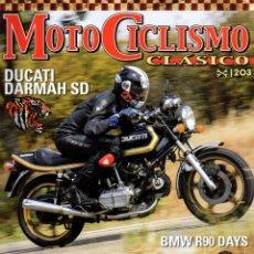 Coches y Motocicletas: MOTICICLISMO CLASICO N. 203 AGOSTO 2019 - EN PORTADA: DUCATI DARMAH SD (NUEVA). Lote 195036268