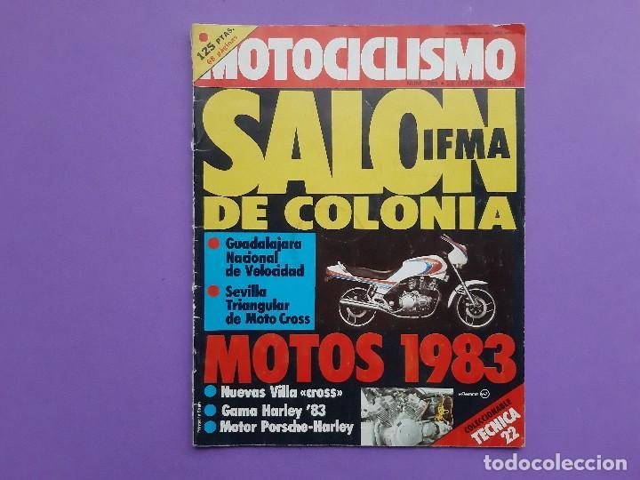 MOTOCICLISMO Nº 469 PRESENTACION GAMA 83 HARLEY DAVIDSON OLIMPIADA DEL ENDURO CHECOSLOVAQUIA (Coches y Motocicletas - Revistas de Motos y Motocicletas)