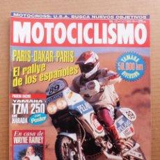 Coches y Motocicletas: MOTOCICLISMO 1351 YAMAHA XJ 600 DIVERSION MZ SKORPION 660 RACING YAMAHA TZ 250 HARADA. Lote 195138955