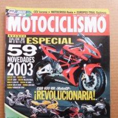 Coches y Motocicletas: MOTOCICLISMO 1804 APRILIA TUONO FIGHTER YAMAHA YZ 450 F SALON MUNICH NOVEDADES 2003. Lote 195139591