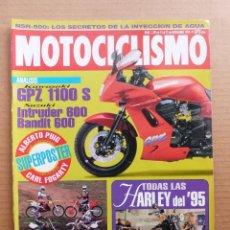 Coches y Motocicletas: MOTOCICLISMO 1395 HONDA CR 250 YAMAHA YZ 250 SUZUKI BANDIT 600 INTRUDER 600 GSX-R 1100. Lote 195140891