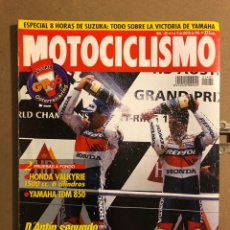 Coches y Motocicletas: MOTOCICLISMO N° 1485 (AGOSTO 1996). HONDA VALKYRIE 1500 CC, YAMAHA TDM 850,.... Lote 195154320