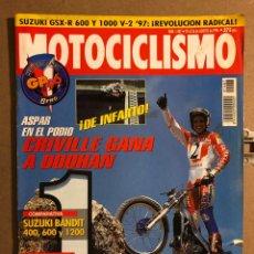 Coches y Motocicletas: MOTOCICLISMO N° 1487 (AGOSTO 1996). SUZUKI GSX-R 600 Y 1000 V-2, SUZUKI BAMDIT 400-600-1200. Lote 195154380