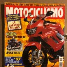 Coches y Motocicletas: MOTOCICLISMO N° 1490 (SEPTIEMBRE 1996). HONDA CBR 1100 XX, HONDA VTR 1000 FIRE STORM, MONTESA. Lote 195154398