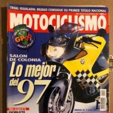 Coches y Motocicletas: MOTOCICLISMO N° 1494 (OCTUBRE 1996). BMW K 1200 RS, CRIVILLÉ VS DOOHAN, SBK ALBACETE,.... Lote 195154436