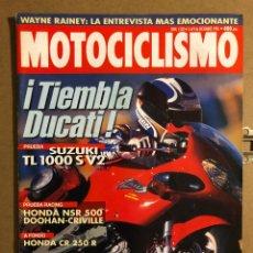 Coches y Motocicletas: MOTOCICLISMO N° 1502 (DICIEMBRE 1996). SUZUKI TL 1000 S V2, HONDA NSR 500, HONDA CR 250 R,.... Lote 195154458