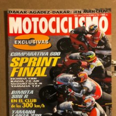 Coches y Motocicletas: MOTOCICLISMO N° 1504 (DICIEMBRE 1996). BIMOTA SB6 R, HONDA CBR VS KAWA ZX-6R VS SUZUKI GSX-R. Lote 195154502
