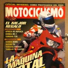Coches y Motocicletas: MOTOCICLISMO N° 1505 (1996). HONDA VTR 1000 FIRE STORM, APRILIA RS REPLICA, HONDA NS-1, YAMAHA TZR,.. Lote 195154506