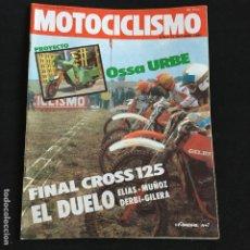Coches y Motocicletas: REVISTA MOTOCICLISMO Nº 676 DE 1980 CON POSTER OSSA URBE. Lote 195170892