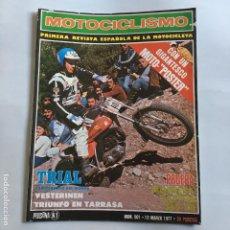 Coches y Motocicletas: REVISTA MOTOCICLISMO Nº 501 DE 1977 CON POSTER MONTESA CAPPRA 360 VB. Lote 195172351