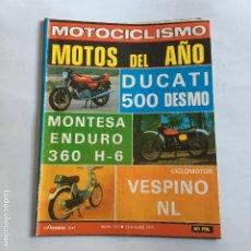 Coches y Motocicletas: REVISTA MOTOCICLISMO Nº 595 DE 1979 CON POSTER DUCATI 500 DESMO-MONTESA ENDURO 360 H-6-VESPINO NL. Lote 195172605