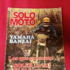 Coches y Motocicletas: REVISTA SOLO MOTO N.83 AÑO 1977. Lote 195203970