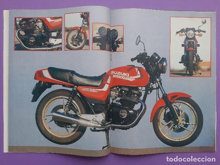 Coches y Motocicletas: MOTOCICLISMO Nº923 AÑO 1986 REPORTAJE ENTREVISTA A RICARDO TORMO POSTER CENTRAL SUZUKI GSX 400E - Foto 2 - 195216666