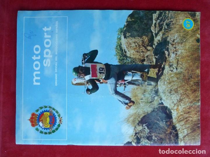 REVISTA-MOTO SPORT Nº97·REAL FEDERACION MOTOCICLISTA ESPAÑOLA-MOTOCICLISMO (Coches y Motocicletas - Revistas de Motos y Motocicletas)