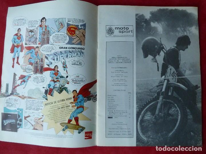 Coches y Motocicletas: REVISTA-MOTO SPORT Nº97·REAL FEDERACION MOTOCICLISTA ESPAÑOLA-MOTOCICLISMO - Foto 3 - 195216702
