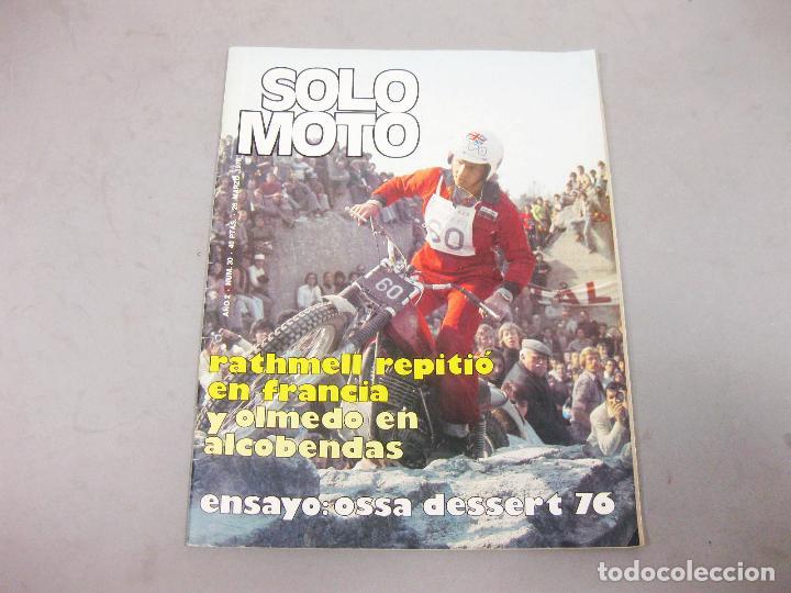 REVISTA SOLO MOTO Nº 30 DE MARZO DE 1976 (Coches y Motocicletas - Revistas de Motos y Motocicletas)