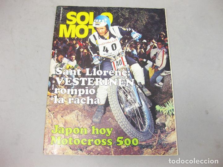 REVISTA SOLO MOTO Nº 80 DE MARZO DE 1977 (Coches y Motocicletas - Revistas de Motos y Motocicletas)