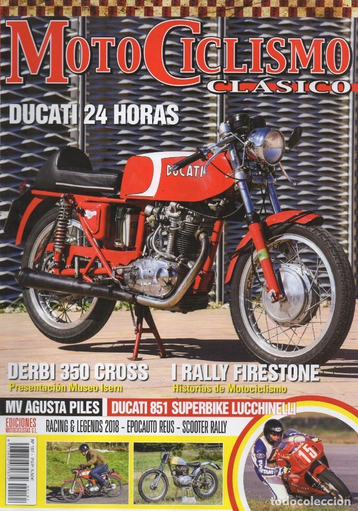 MOTOCICLISMO CLASICO N. 187 ABRIL 2018 - EN PORTADA: DUCATI 24 HORAS (NUEVA) (Coches y Motocicletas - Revistas de Motos y Motocicletas)
