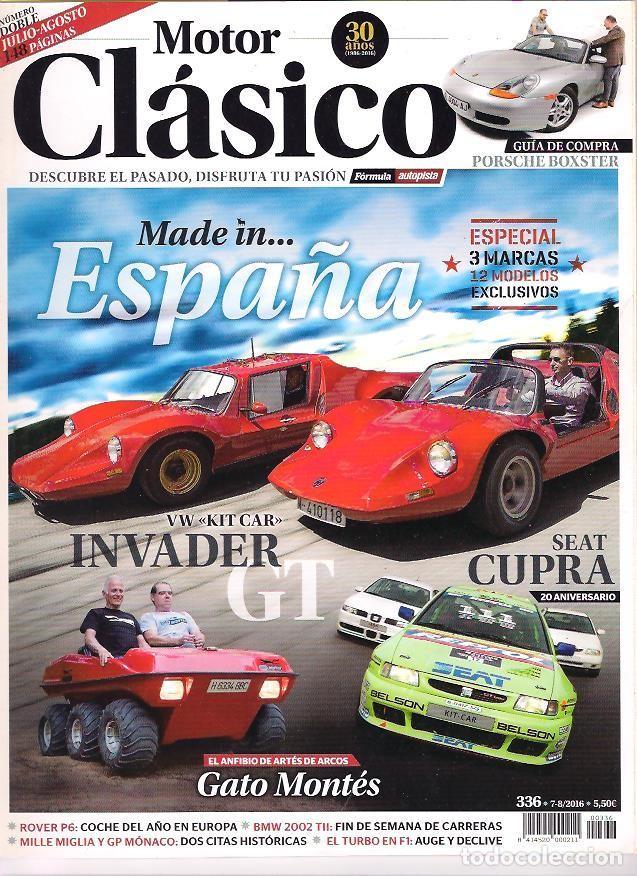 MOTOR CLASICO 336 (Coches y Motocicletas - Revistas de Motos y Motocicletas)