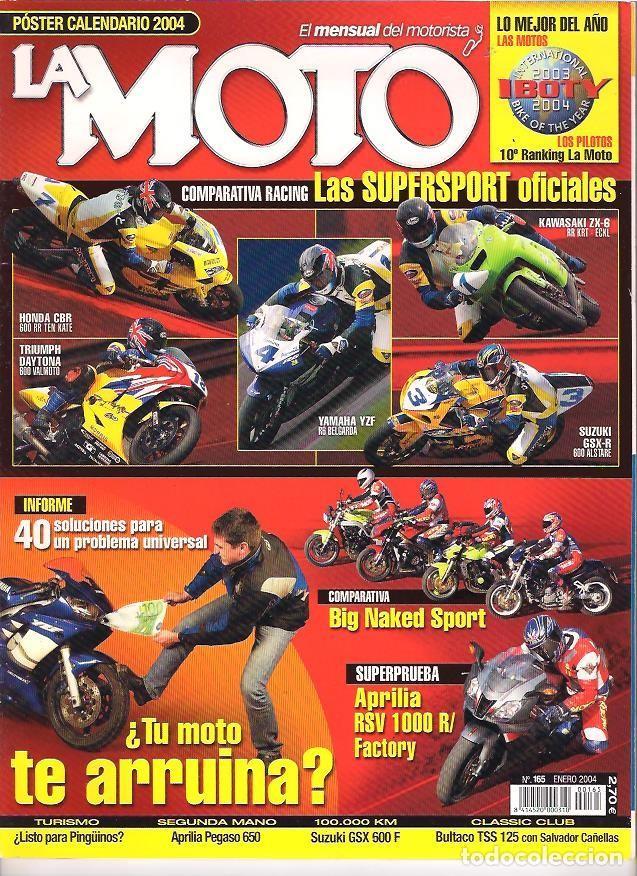REVISTA LA MOTO AÑO 2004 AÑO COMPLETO (Coches y Motocicletas - Revistas de Motos y Motocicletas)