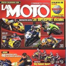 Coches y Motocicletas: REVISTA LA MOTO AÑO 2004 AÑO COMPLETO. Lote 195313725
