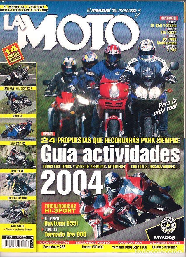 Coches y Motocicletas: revista la moto año 2004 año completo - Foto 3 - 195313725