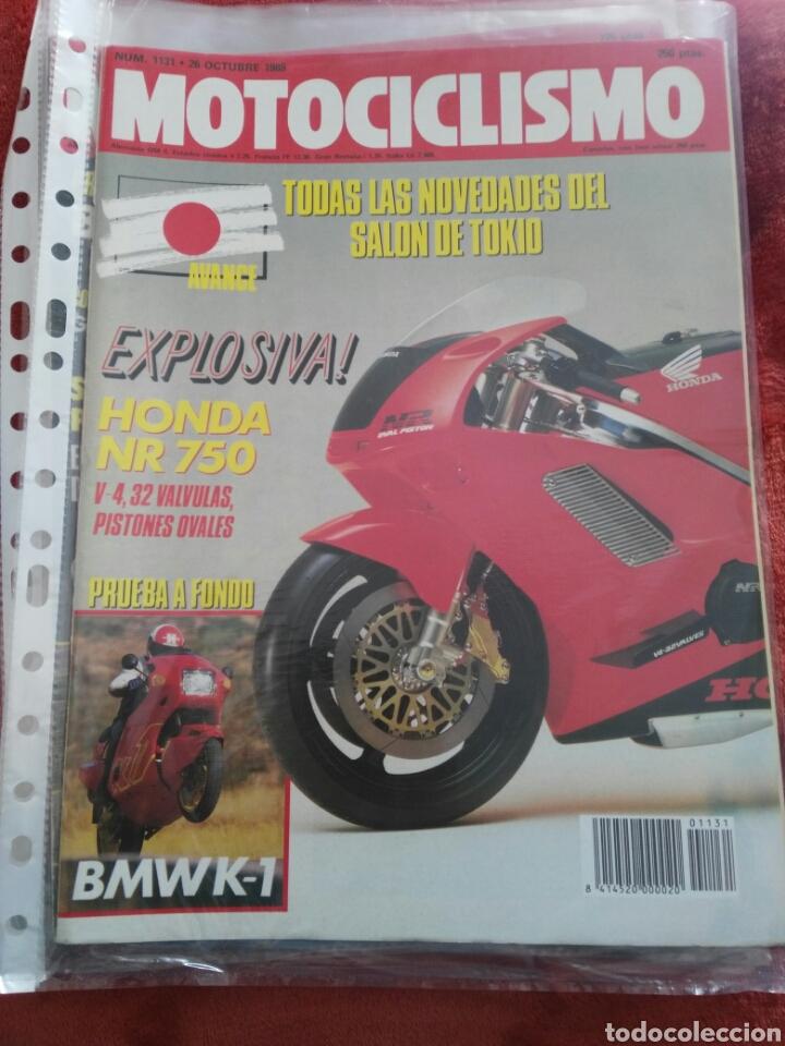 REVISTA MOTOCICLISMO N.1131 AÑO 1989 (Coches y Motocicletas - Revistas de Motos y Motocicletas)