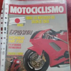 Coches y Motocicletas: REVISTA MOTOCICLISMO N.1131 AÑO 1989. Lote 195378303