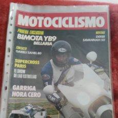 Coches y Motocicletas: REVISTA MOTOCICLISMO N.1138 AÑO 1989. Lote 195378461