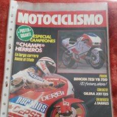 Coches y Motocicletas: REVISTA MOTOCICLISMO N.1125 AÑO 1989. Lote 195378677