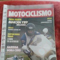 Coches y Motocicletas: REVISTA MOTOCICLISMO N.1138 AÑO 1989. Lote 195378873