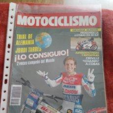 Coches y Motocicletas: REVISTA MOTOCICLISMO N.1124 AÑO 1989. Lote 195379063