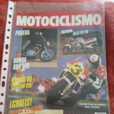 Coches y Motocicletas: REVISTA MOTOCICLISMO N.1105 AÑO 1989. Lote 195379246