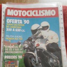 Coches y Motocicletas: REVISTA MOTOCICLISMO N.1149 AÑO 1990. Lote 195379553