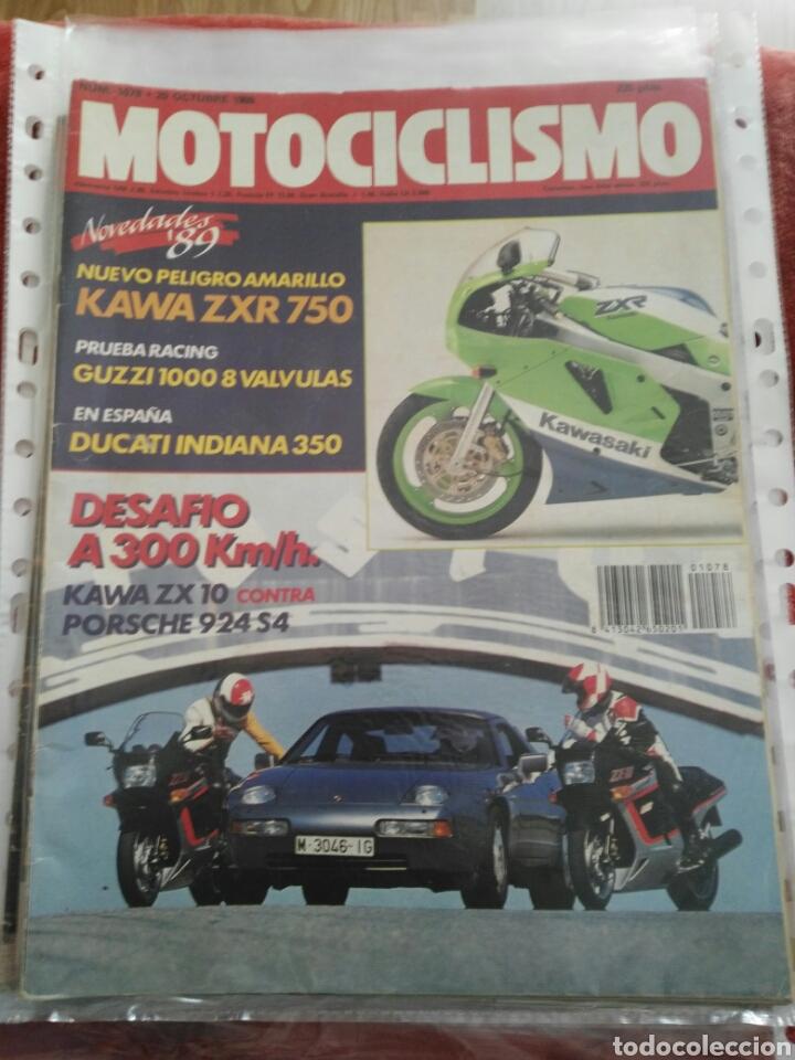 REVISTA MOTOCICLISMO N.1078 AÑO 1988 (Coches y Motocicletas - Revistas de Motos y Motocicletas)