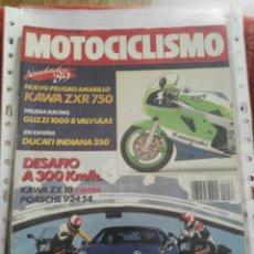 Coches y Motocicletas: REVISTA MOTOCICLISMO N.1078 AÑO 1988. Lote 195379822