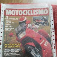 Coches y Motocicletas: REVISTA MOTOCICLISMO N.1067 AÑO 1988. Lote 195380127