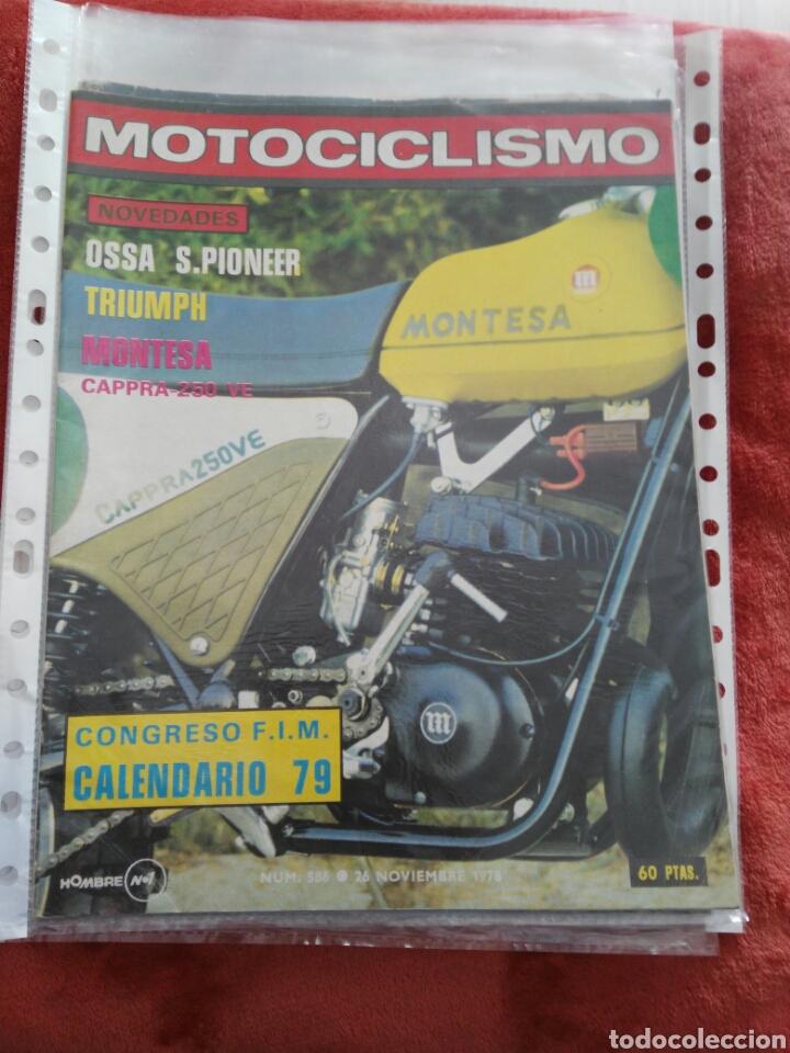 REVISTA MOTOCICLISMO N.586 AÑO 1978 (Coches y Motocicletas - Revistas de Motos y Motocicletas)